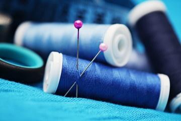Oikean langan ja neulan valinta eri kangastyypeille
